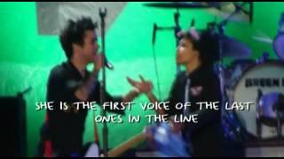 Green Day - Maria (Lyrics Video 22.10.10) Live at Argentina