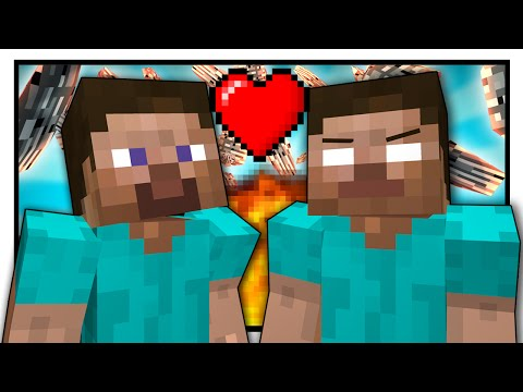 Thumbnail: If Steve and Herobrine were Friends - Minecraft