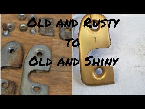 Zinc Plating at Home - Sandblasting and plating Jeep parts