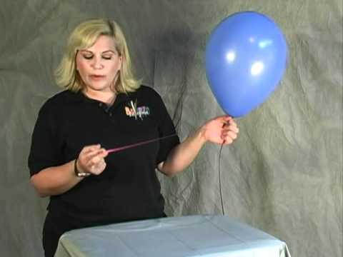 how to curl ribbon balloon bouquets san diego youtube. Black Bedroom Furniture Sets. Home Design Ideas