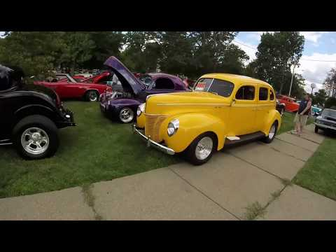 Classic Car Cruise. Hot Summer Nights 2017. Ford, Chevy, Volkswagen, etc.