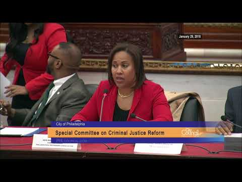 Special Committee on Criminal Justice Reform 1-29-2018