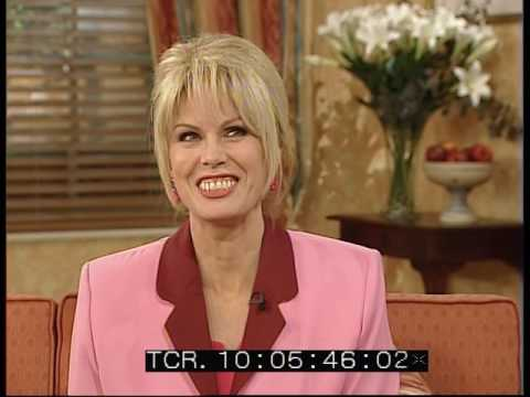 Joanna Lumley Interview - Open House with Gloria Hunniford - 2000