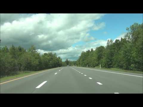 New York - Interstate 87 North (Adirondack Northway) - Mile Marker 160 to 176