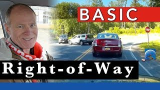 Basic Right-of-way Rules And Who Goes First In Road Traffic