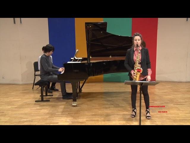 Nahikari Oloriz & Kishin Nagai   Lars Erik Larsson, Konzert opus 14   2e mouvement