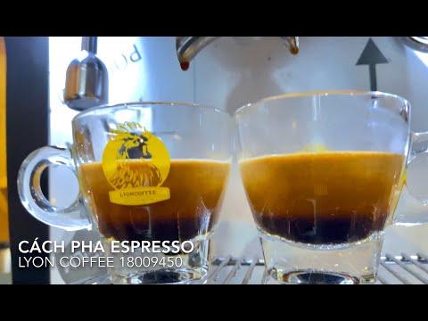 Cách pha cà phê máy đậm đặc | Lyon Coffee 18009450