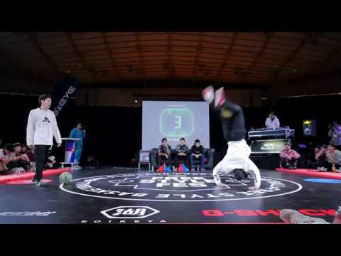 Freestyle Fes 2017 #1 1stRd1 Yo vs Shohei FreestyleFootball OpenClass