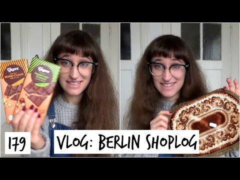 Berlin Shoplog: Thriftshop, Vegan Supermarket & Going Back Home | Vlog 179 | HiLesley-Ann