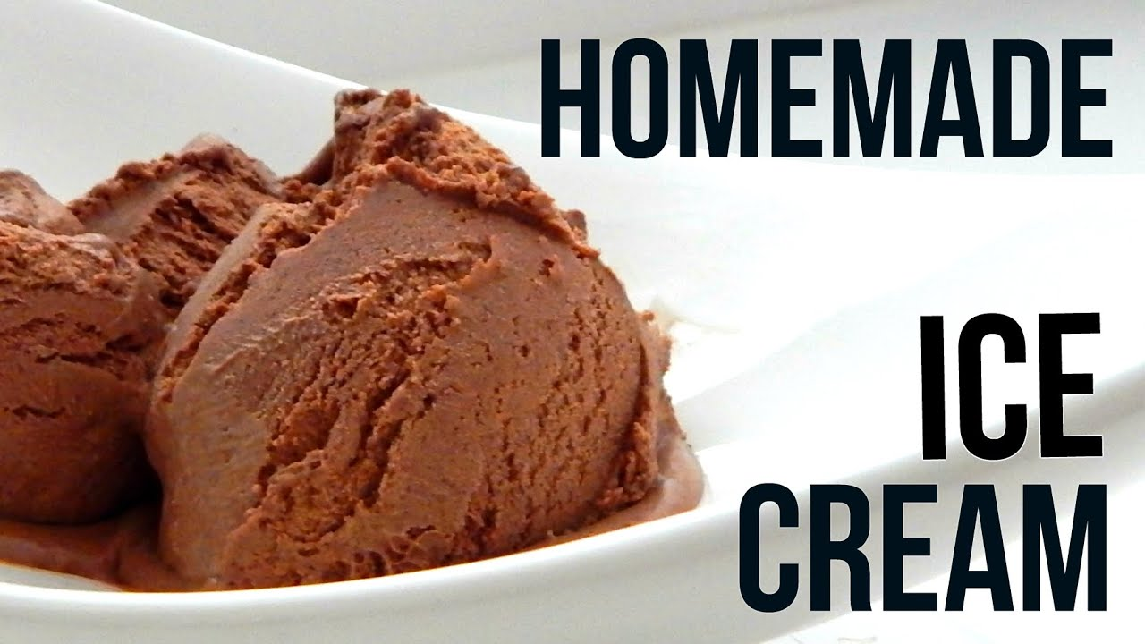 Homemade dark chocolate ice cream how to make easy home recipe homemade dark chocolate ice cream how to make easy home recipe youtube ccuart Images