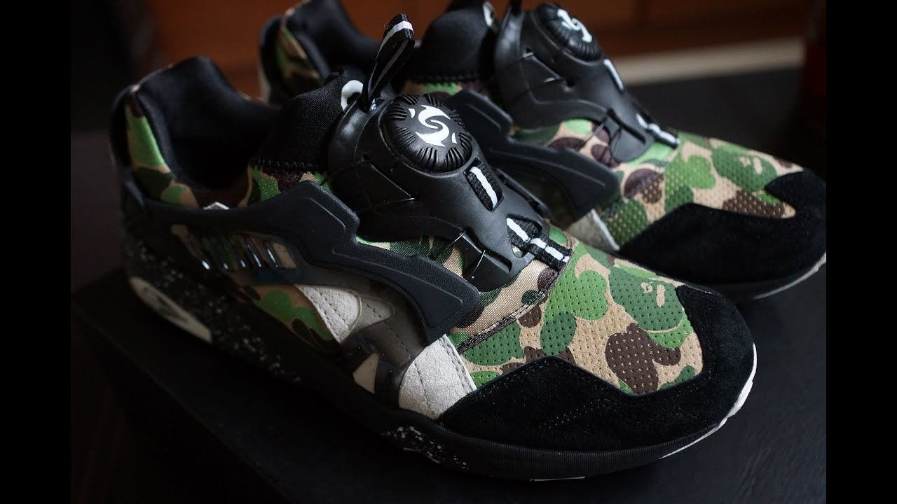 bape x puma shoes