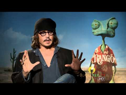 Johnny Depp Talks About His Favorite Western & Clint Eastwood In This Rango Interview