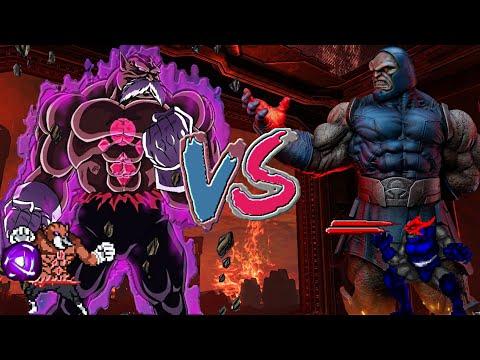 Toppo vs Darkseid