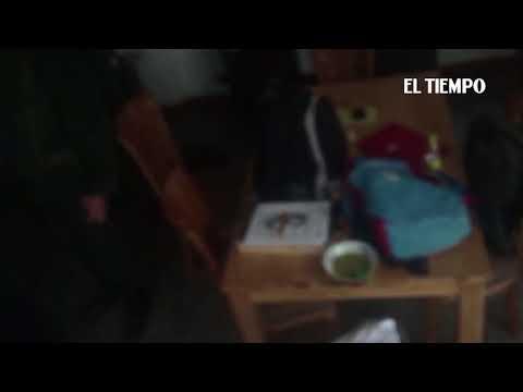 Momento de la captura de Jesús Santrich  EL TIEMPO