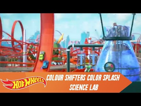 Hot Wheels Colour Shifters Color Splash Science Lab | Hot Wheels