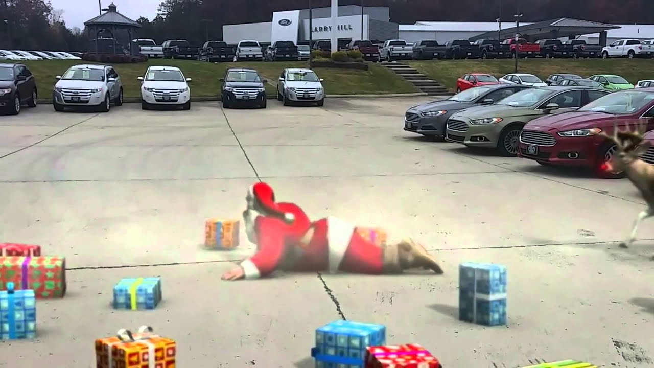 Larry Hill Ford Holiday Commercials gone wrong... | larry hill ford