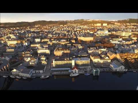Drone-flyging over Haugesund