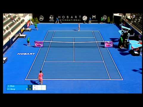 Zarina Diyas v Camila Giorgi full match (1R) | Hobart International 2016