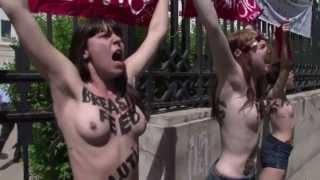 Oben-Ohne-Protest in Tunis: Femen-Frauen frei - und in Europa