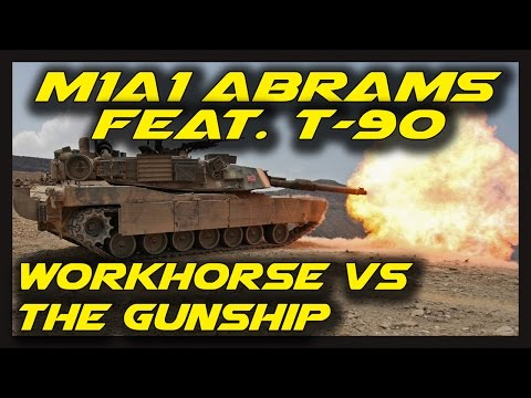► Armored Warfare: M1A1 Abrams feat. T-90 Gameplay - Workhorse vs The Gunship on Wheels!