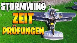Fortnite: Zeitprüfung mit X-4 Stormwing - Alle Locations Season 7 Woche 9