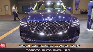 2021 Genesis GV80 Luxury SUV - Exterior And Interior - Toronto Auto Show 2020