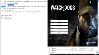 how to install watch dogs in pc