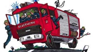 Die Fahrrad Feuerwehr von Plötz