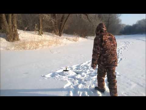 Смотреть онлайн Ловля щуки зимой на жерлицы.'ГЛУХОЗИМЬЮ' не бывать