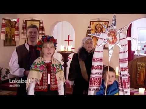 Orthodoxe Weihnachten.Wdr Ukrainische Orthodoxe Weihnachten In Koln 2015