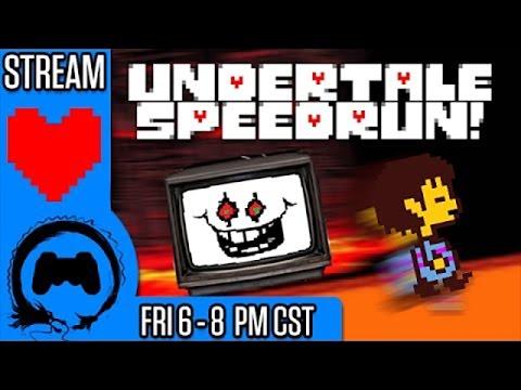 UNDERTALE SPEEDRUN | Casual Friday