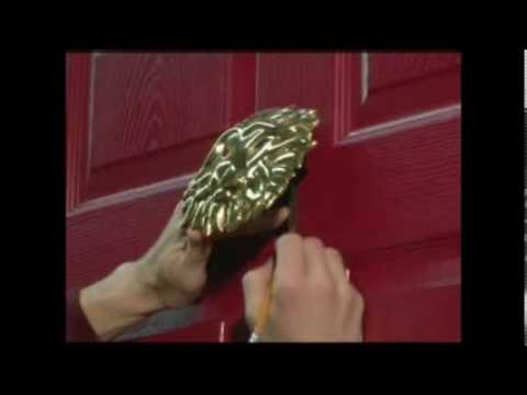 Micheal Healy Designs Door Knocker Installation