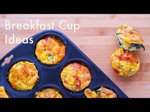 4 Breakfast Egg Cup Ideas | Keto, Paleo & Low Carb | In Carina's Kitchen
