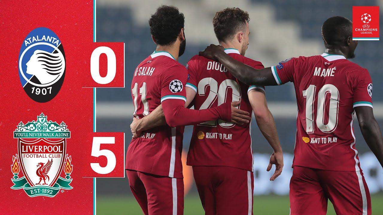 Download Highlights: Atalanta 0-5 Liverpool   Jota's Champions League hat-trick