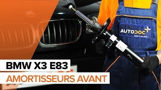 Montage Amortisseurs avant BMW X3 (E83) : vidéo gratuit