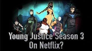 Young Justice 3rd Season On Netflix?