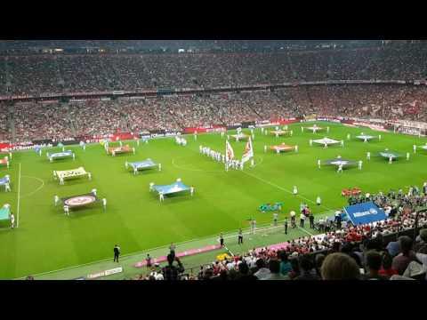 Allianz Arena - FC Bayern München Spieltag - Eröffnungsfeier 54. Bundesligasaison