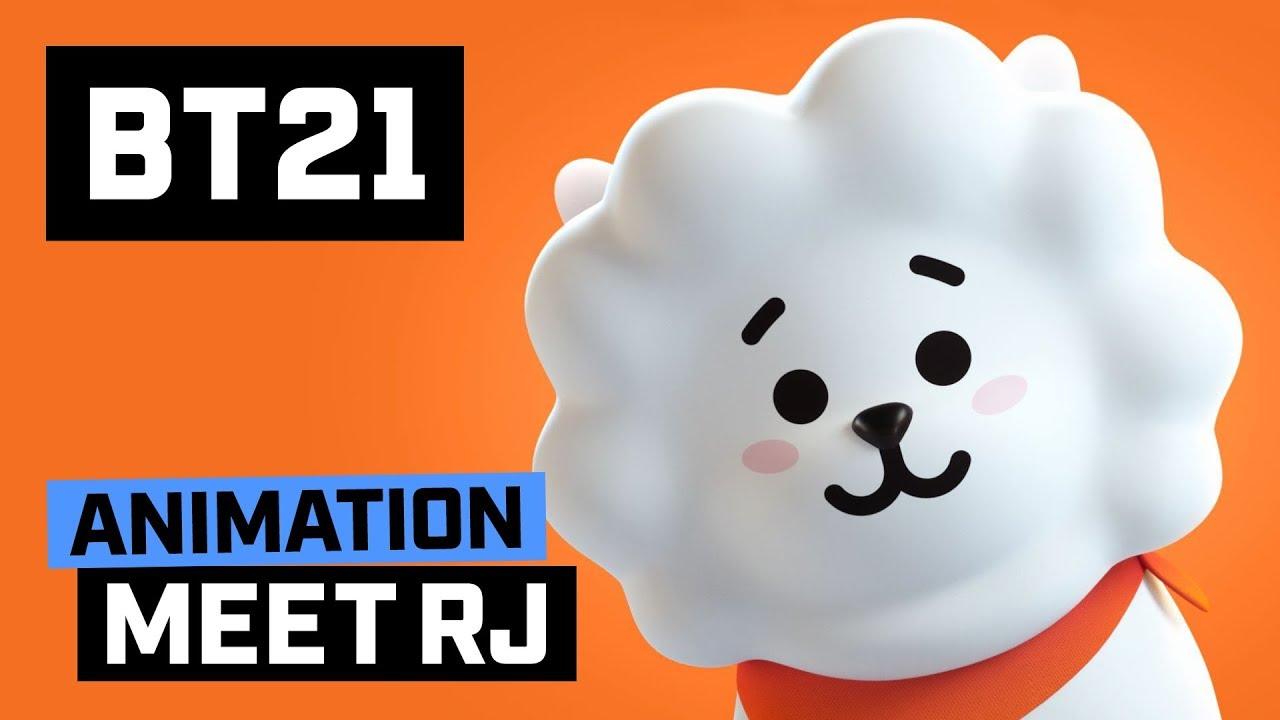 Bts 3d Wallpaper Bt21 Meet Rj Youtube