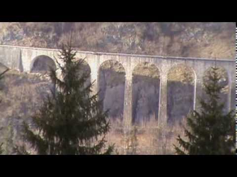The Viaducts Of Morez, Jura, France