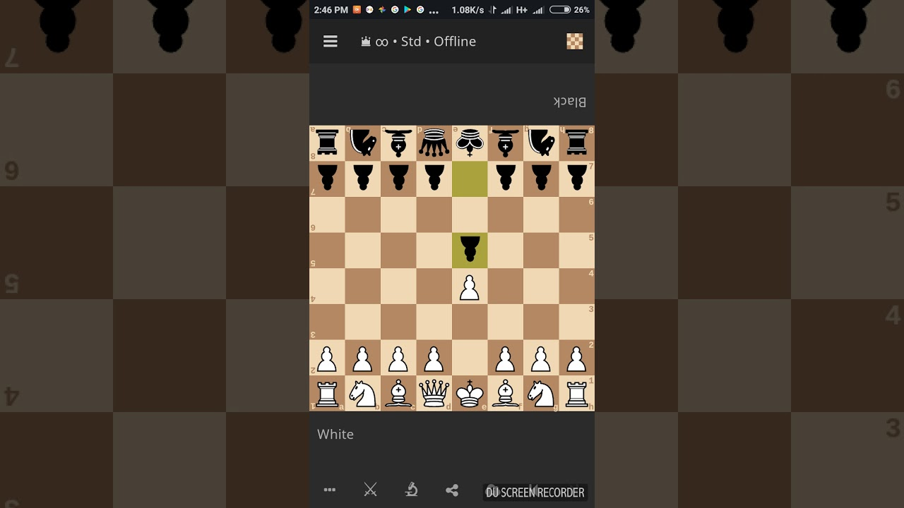 aaa checkmate Chess CHECKMATE in 6 moves. Napolean attack. 100% working - YouTube