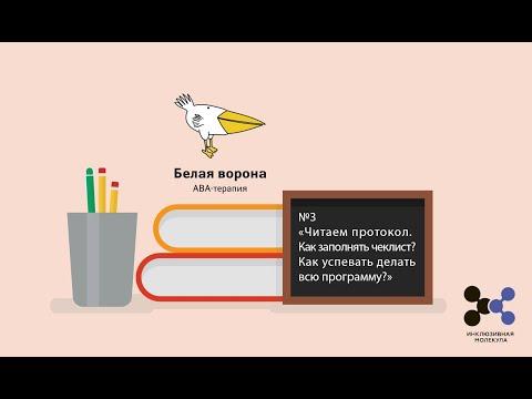№3 «Читаем протокол. Как заполнять чеклист? Как успевать делать всю программу?», куратор Евтюхина А.