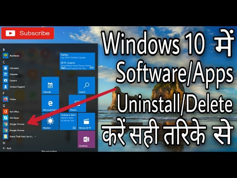how-to-uninstall-application-in-pc