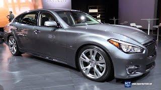 2017 Infiniti Q70 L Exterior and Interior Walkaround 2016 LA Auto Show