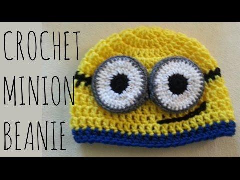 Minion Beanie | Crochet Pattern | Character Creation Tutorial