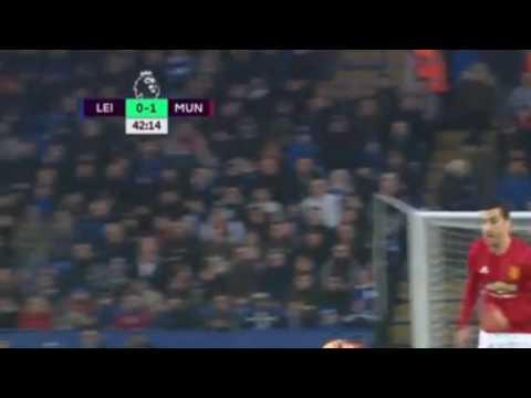 Лестер Сити   Манчестер Юнайтед 0- 1 Гол МХИТАРЯН