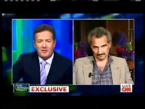 PRINCE ALWALEED BIN TALAL INTERVIEW WITH MR.PIERS MORGAN ,CNN .P1\2
