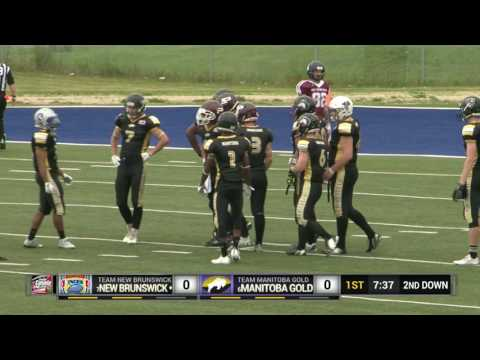 2016 Football Canada Cup   New Brunswick vs Manitoba Gold