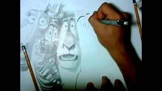 Madagascar - Speed Drawing (HD)
