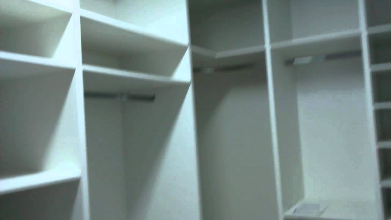 Closet Em MDF Branco   YouTube