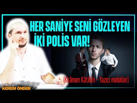Her saniye seni gözleyen iki polis var! (Kirâmen katibin - Yazıcı melekler) / Kerem Önder